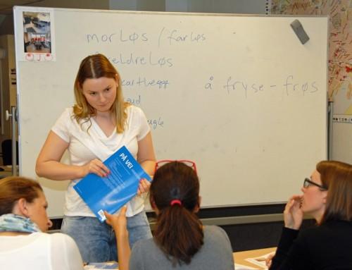 Ny runde med norskkurs ved Caritas Ressurssenter