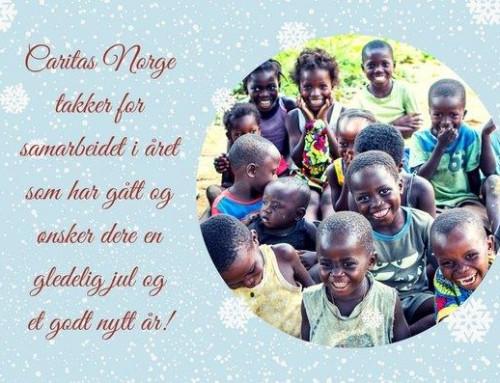 Julehilsen fra Caritas