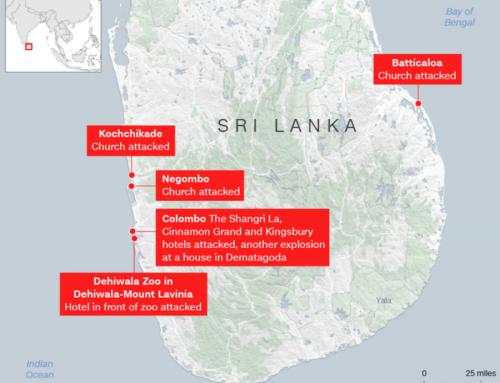 Innsamling for de etterlatte på Sri Lanka