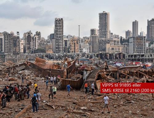 Hjerteskjærende rapporter fra Beirut
