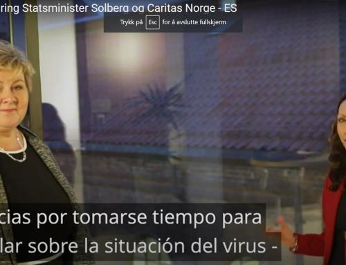 Koronainformasjon til innvandrere og samarbeid med statsminister Erna Solberg