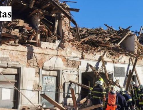 Flere omkomne etter kraftig jordskjelv i Kroatia