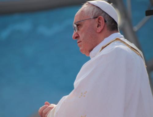 Paven med årets viktigste fredshandling!