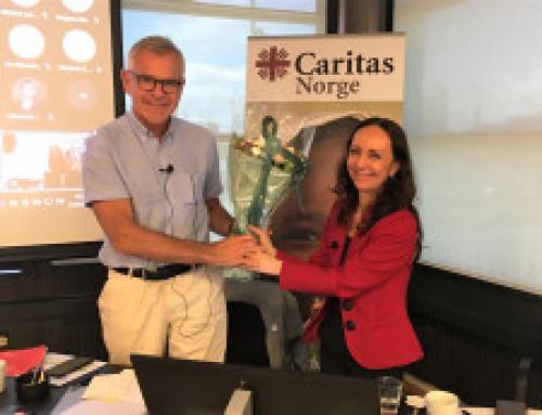Skifte av styreleder i Caritas Norge