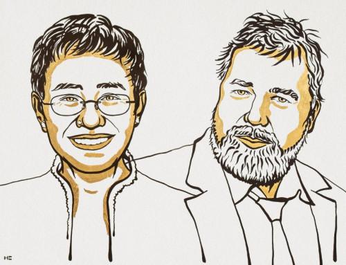 Nobels Fredspris til Maria Ressa og Dmitrij Muratov